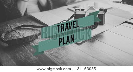 Travel Planning Schedule Vacation Holiday Journey Concept