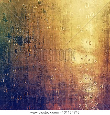 Vintage torn texture or stylish grunge background with ancient design elements and different color patterns: yellow (beige); brown; blue; gray; purple (violet); pink