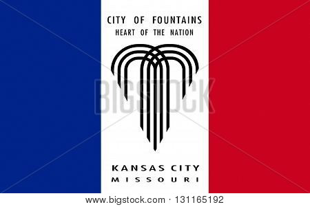 Flag of Kansas City is the largest city in the U.S. State of Missouri and the sixth largest city in the Midwest