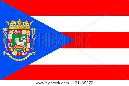 Flag of Puerto Rico officially the Commonwealth of Puerto Rico United States territory located in the northeastern Caribbean