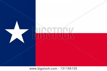 Flag of Texas is the second largest state in the United States by both area and population
