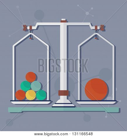 Science Scales For Chemical Experiment