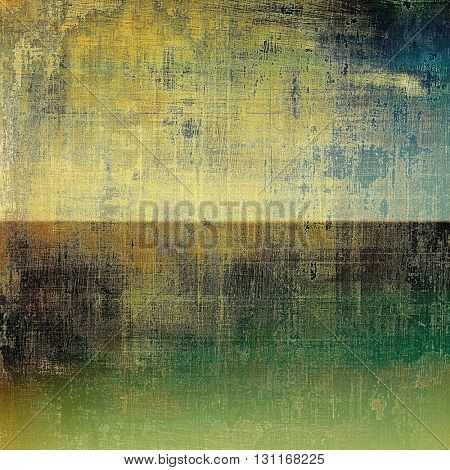 Ancient textured background or shabby backdrop. With different color patterns: yellow (beige); brown; green; blue; gray