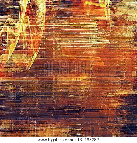 Colorful scratched background or grungy texture. With different color patterns: yellow (beige); brown; red (orange); purple (violet)