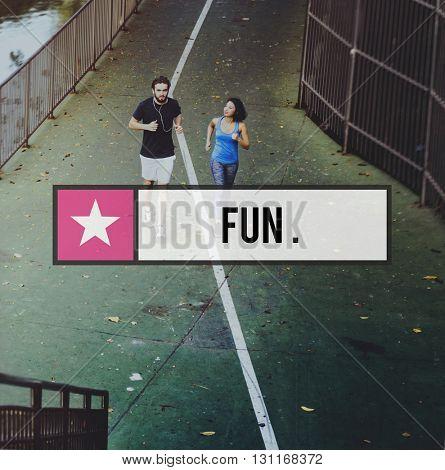 Fun Enjoyment Entertainment Interesting Pleasure Concept
