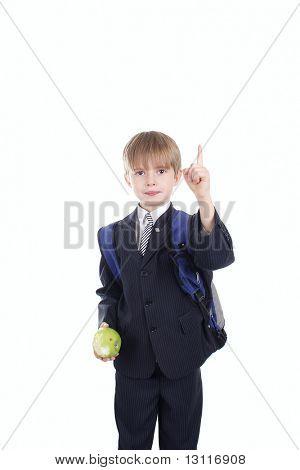punto de dedo colegial
