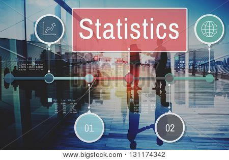 Statistics Process Efficiency Planning Research Concept