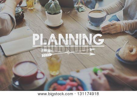 Plan Planning Brainstorming Mind Word Concept