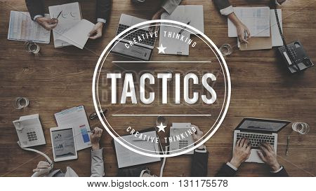 Tactics Strategy Planning Tactical Organization Concept