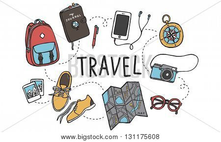 Travel Tour Tourism Holiday Vacation Visiting Concept