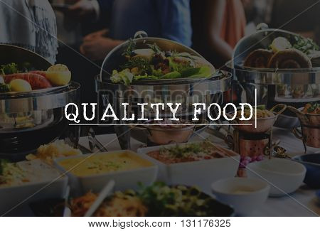 Quality Food Lab Testing Safety Healthy Concept