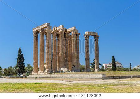 Temple of Zeus, Olympeion, Athens, Greece
