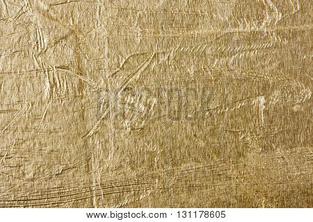 gold foil abstract grunge background