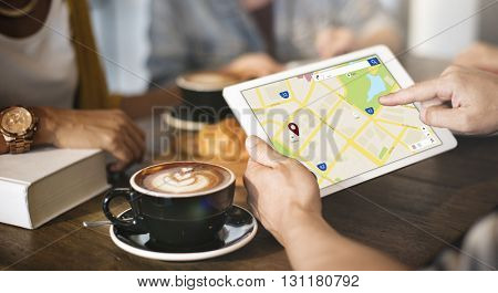 Navigation GPS Application Position Checking Concept