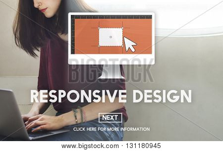 Responsive Design Digital Device Development Concept