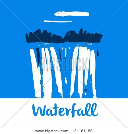 Vector Logo For Fresh Mineral Water Company.