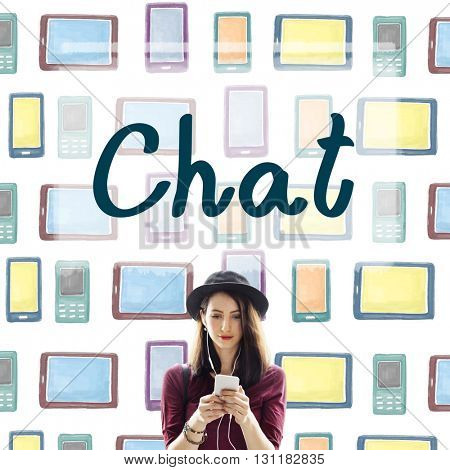 Chat Chatting Communication Connecting Ideas Concept