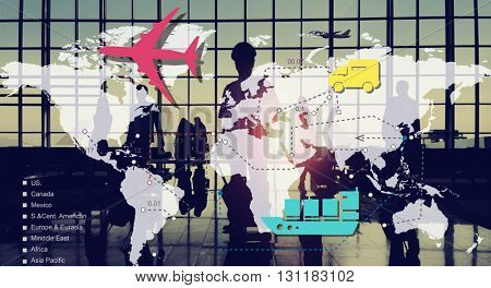Travelling Trip Journey International Destination Concept