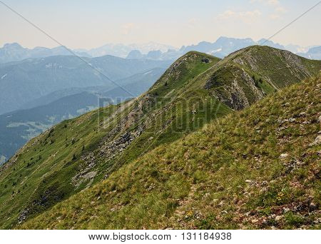 Serene View of Landscape in Visitor Mountains Montenegro