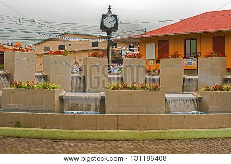 City Of Boquete In Panama