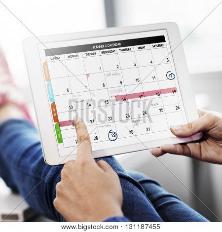 Plan Schedule Planning Planner Relax Concept