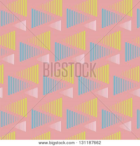 triangle lines background colorful pattern cover bright print