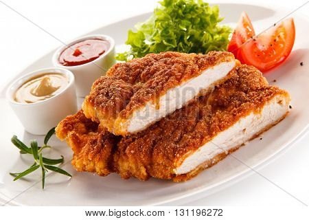 Fried pork chop