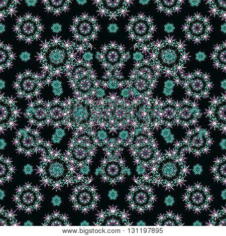 Luxury Check Ornate Seamless Pattern