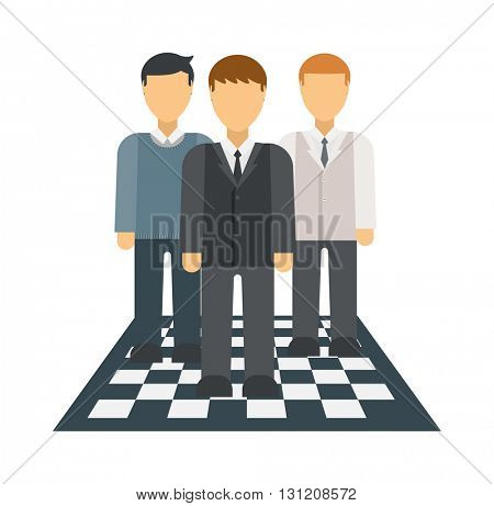 Business winners people group silhouette excited hold hands up raised arms with gold award vector.