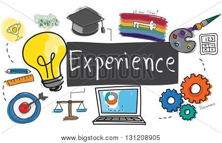 Experience Balance Bad Good Observation Talent Concept