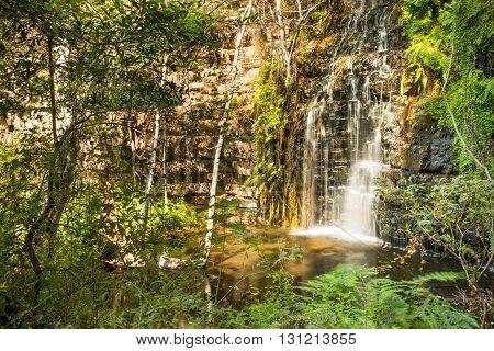 Waterfall In Botswana