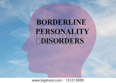 Borderline Personality Disorders Mental Concept