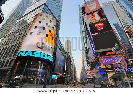 NASDAQ am Times Square