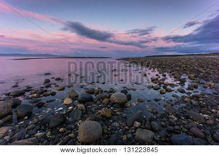 Sunset at Qualicum Beach, British Columbia, Canada