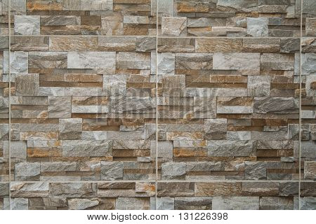 background stone wall sort beautiful brown rock
