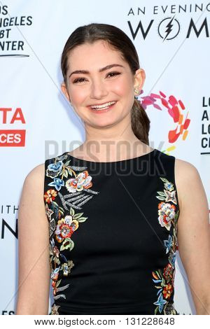 LOS ANGELES - MAY 21:  Emily Robinson at the An Evening With Women 2016 at Hollywood Palladium on May 21, 2016 in Los Angeles, CA