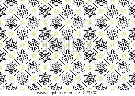 Winter holiday pattern, also for print. Pattern can be found in swatch panel