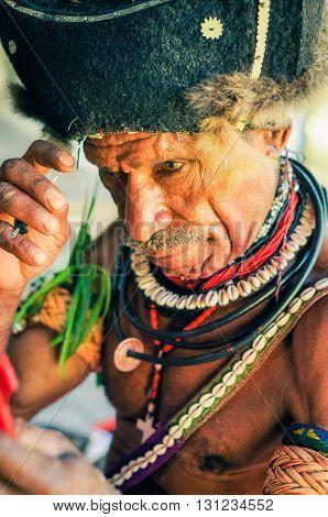 Preparation In Papua New Guinea