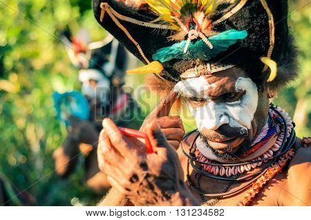 Make-up In Papua New Guinea