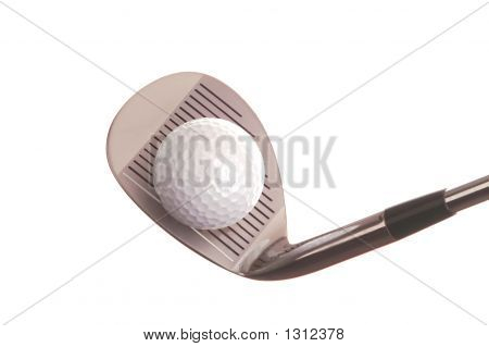 Golf Ball & Club