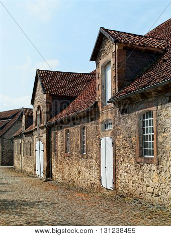 An old countryside building in Lower Saxony. Germany