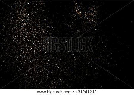 Gold Glitter Texture Bitmap.