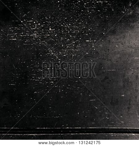 Abstract black textured background / Black Grunge Background