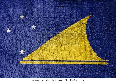 Flag Of Tokelau, On A Luxurious, Fashionable Canvas