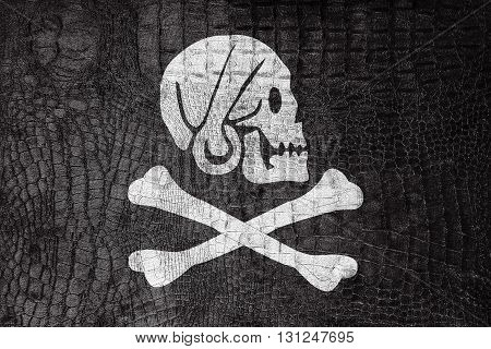 Henry Every Pirate Flag, On A Luxurious, Fashionable Canvas