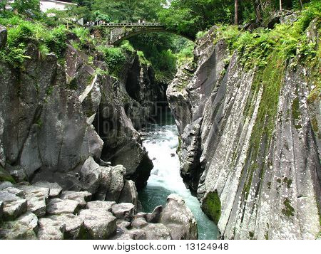 Black River in Japan