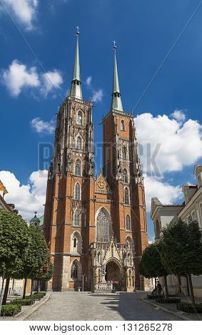Cathedral of St. John the Baptist. Wroclaw. Poland - 2