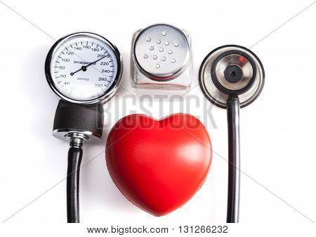 Red Pressure Heart