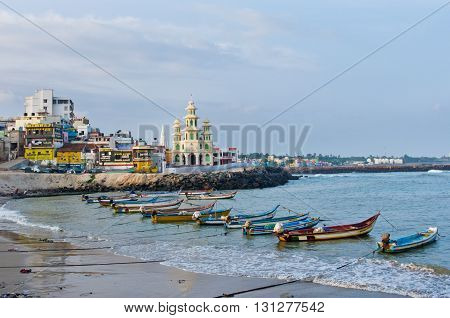 Town Of Kanyakumari, India