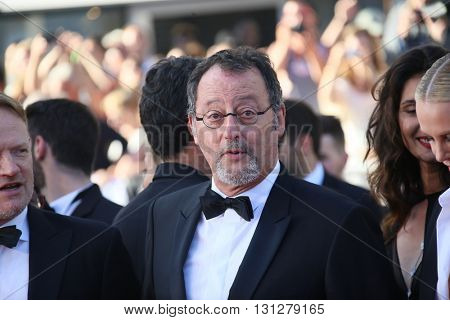 CANNES, FRANCE - MAY 20: Jean Reno attends a screening of 'The Last Face' at the annual 69th Cannes Film Festival at Palais des Festivals on May 20, 2016 in Cannes, France.